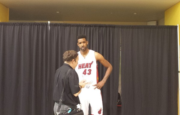 Shawne Williams on Heat Media Day