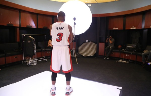 Dwyane Wade Heat Media Day
