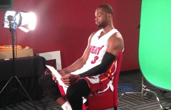 Justin Hamilton on Heat Media Day