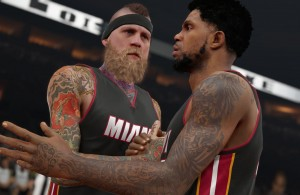 Chris Andersen and Udonis Haslem NBA 2K15