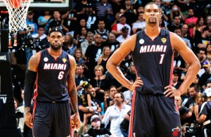 Chris Bosh mad at LeBron James