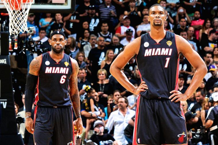 Chris Bosh mad at LeBron James