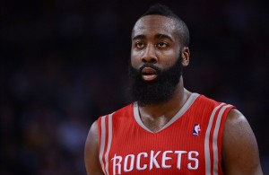 James Harden on the Houston Rockets
