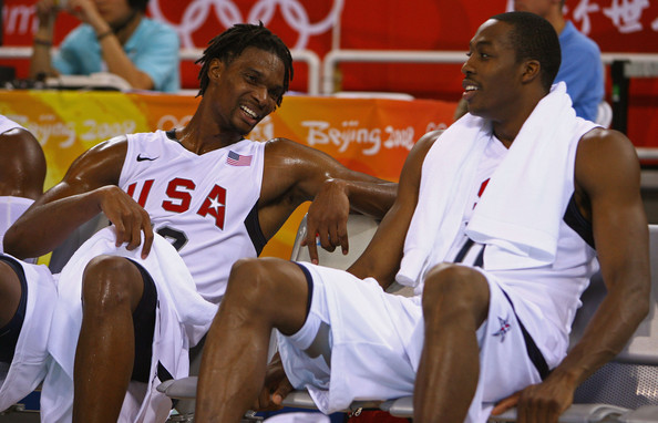 Chris Bosh and Dwight Howard Team USA Olympics