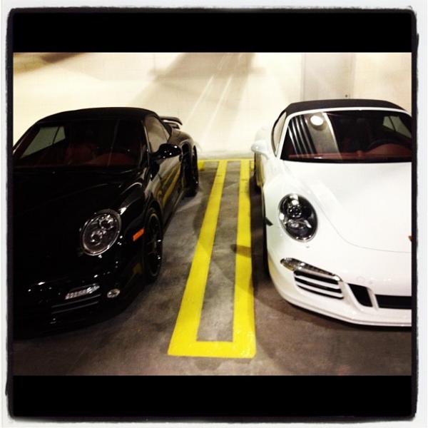 Dwyane Wade's Porsche 911