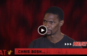 Chris Bosh's Interview with Jason Jackson