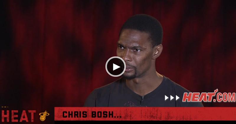 Chris Bosh's Interview with Jason Jackson