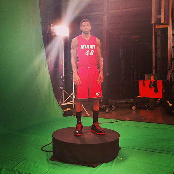 Udonis Haslem Green Screen
