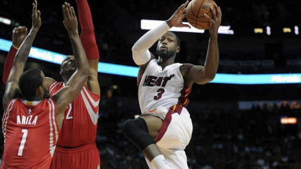 Dwyane Wade vs. Houston Rockets