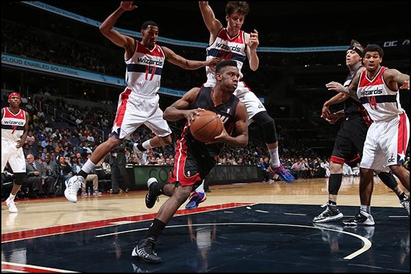 Norris Cole vs. Washington Wizards