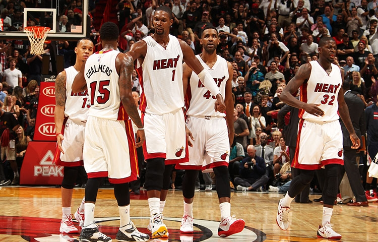 Heat New Starting 5