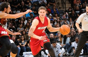 Tyler Johnson of the Miami Heat