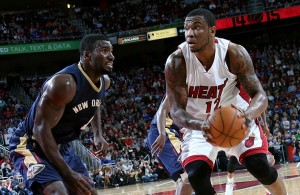 Shawn Jones of the Miami Heat