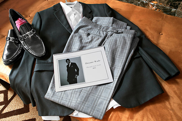Dwyane Wade's wardrobe