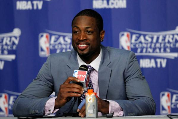 Dwyane Wade post conference