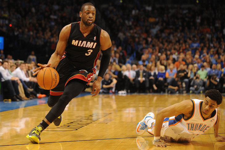Dwyane Wade Against OKC Thunder