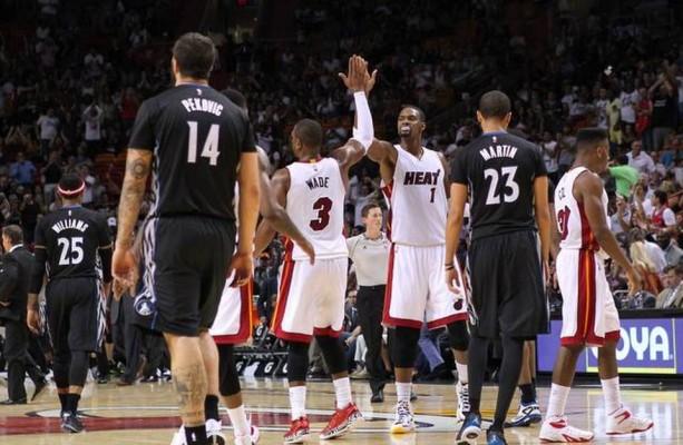 402 Heat Timberwolves DEP DS