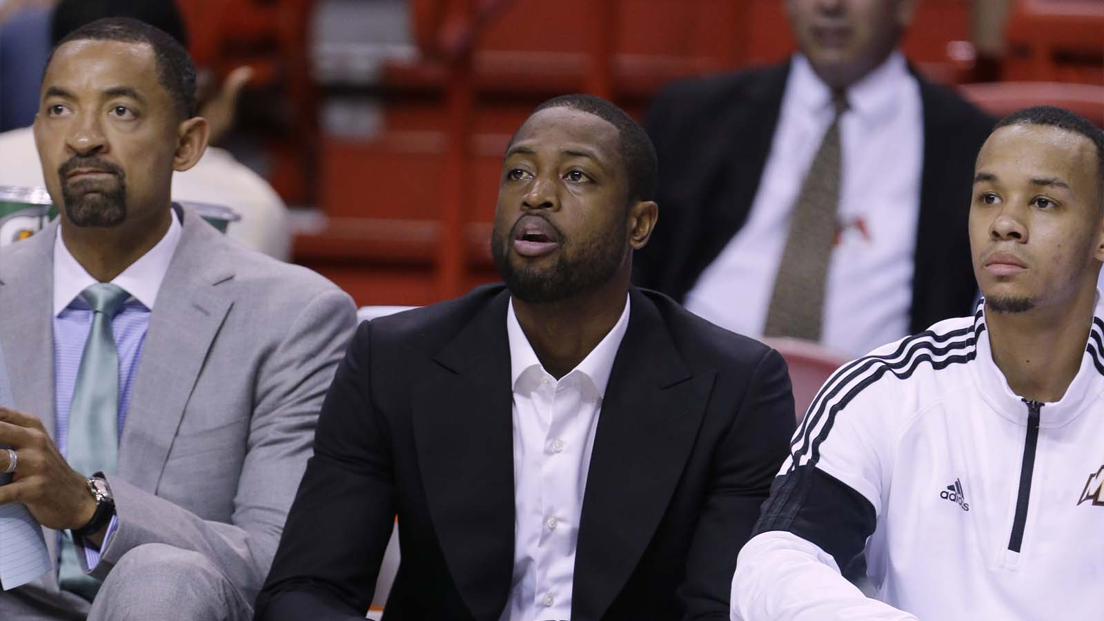 Miami Heat News Dwyane Wade and Luol Deng Doubtful For Thursday