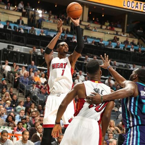 Chris Bosh Against the Hornets