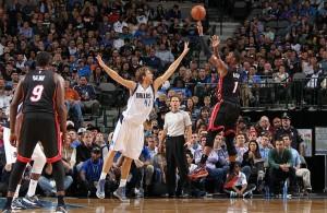 Chris Bosh vs. Dallas Mavericks