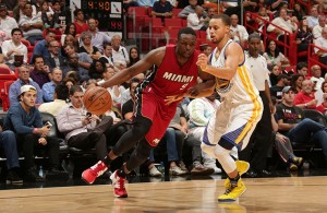 Luol Deng vs. Golden State Warriors
