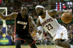LeBron James, Luol Deng