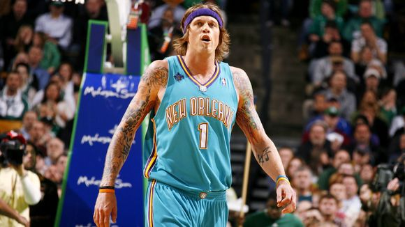 Chris Andersen on the New Orleans Hornets
