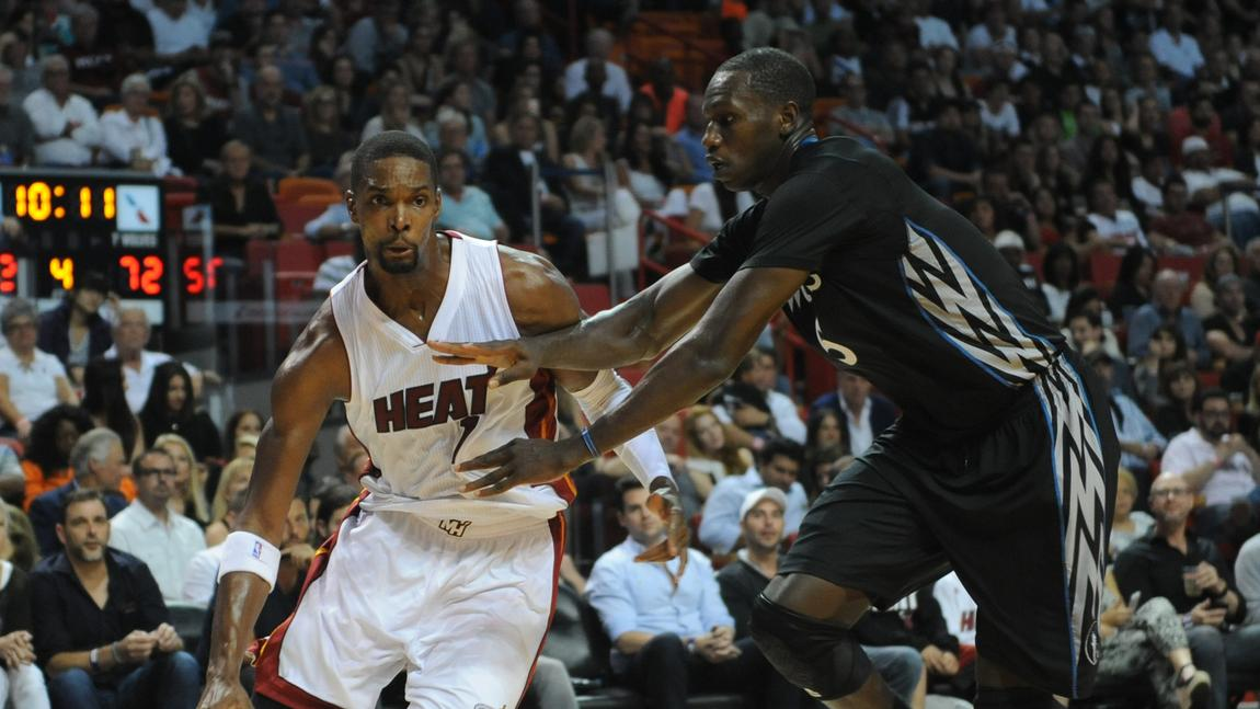 Chris Bosh vs. Timberwolves