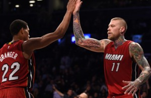 Danny Granger and Chris Andersen