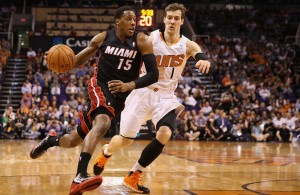 Mario Chalmers against Goran Dragic
