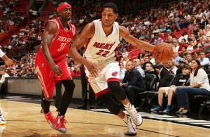 Danny Granger against Houston Rockets
