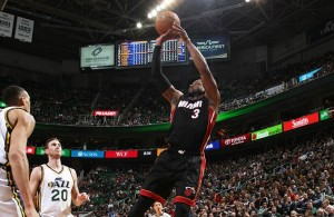 Dwyane Wade vs. Utah Jazz