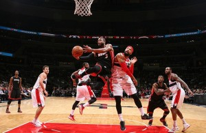 Dwyane Wade against the Washington Wizards