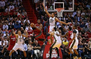Dwyane Wade against the Utah Jazz