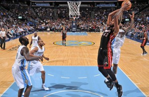 Shawne Williams of the Miami Heat