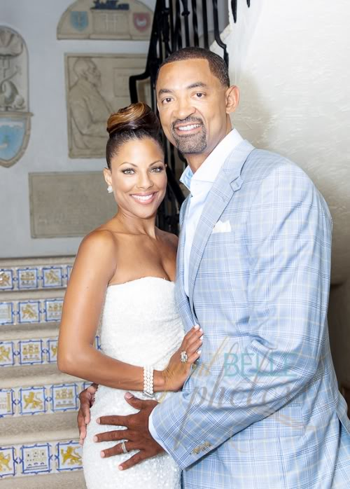 Juwan Howard with endearing, Wife Jenine Wardally