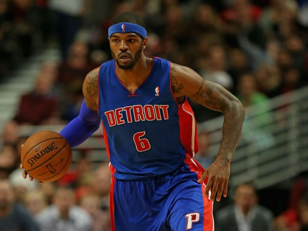 Josh Smith of the Detroit Pistons