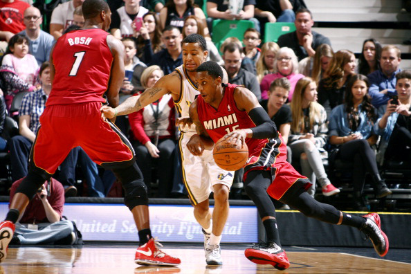 Mario Chalmers vs. Utah Jazz