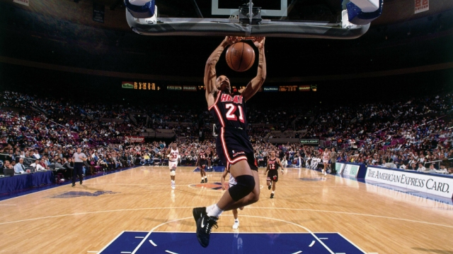 Kevin Edwards of the Miami Heat