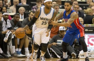 Mo Williams of the Timberwovles
