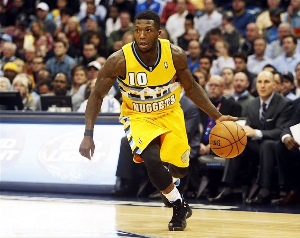 Nate Robinson of the Denver Nuggets