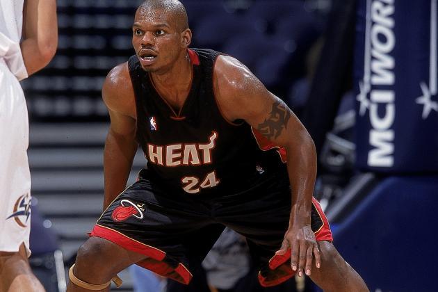 Jamal Mashburn of the Miami Heat