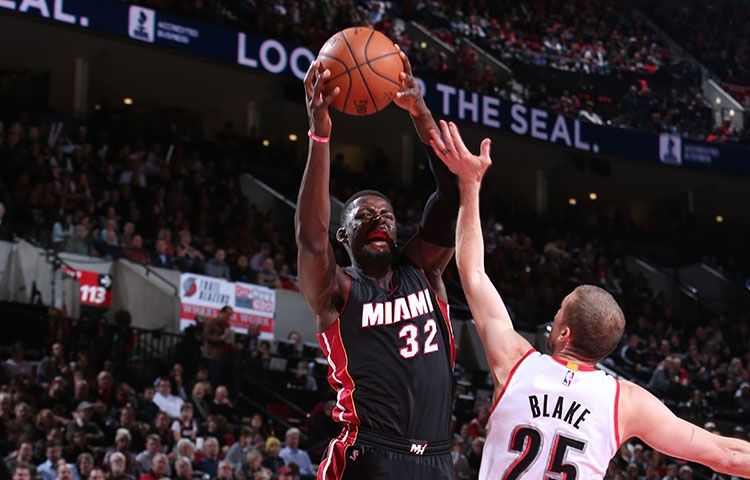 James Ennis of the Miami Heat