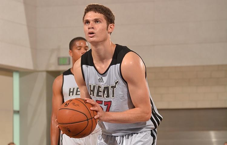 Tyler Johnson of the Miami Heat