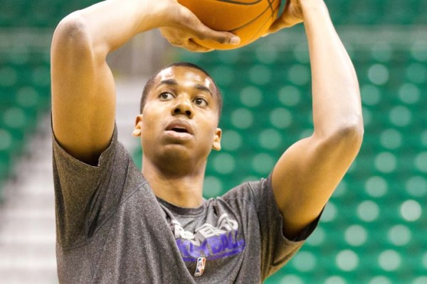 Hassan Whiteside Sacramento Kings Practice