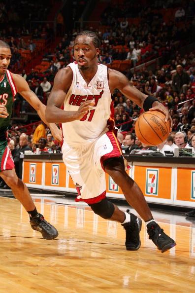 Ricky Davis of the Miami Heat