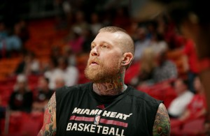 Chris Andersen of the Miami Heat