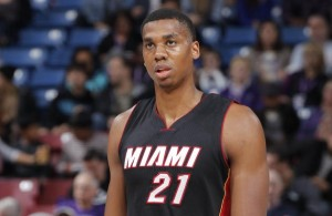 Hassan Whiteside of the Miami Heat
