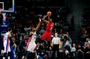 Chris Bosh vs. Detroit Pistons