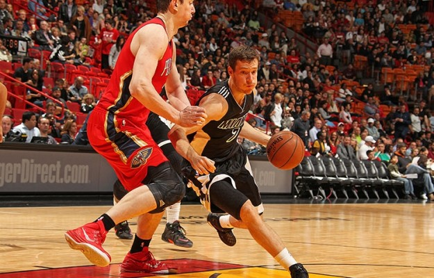 Goran Dragic of the Miami Heat